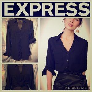 Express Original Portofino Shirt with Tie Sleeves